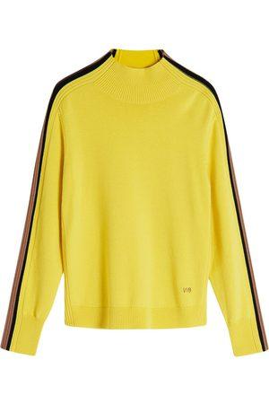 Victoria Victoria Beckham High-neck fine knit jumper