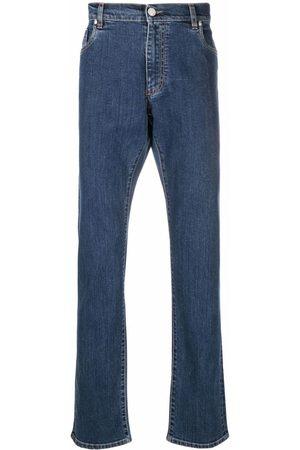 Billionaire Logo-embroidered jeans