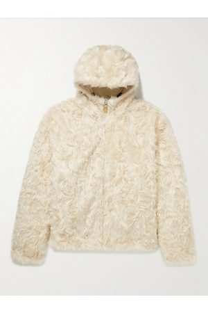 Givenchy Reversible Hooded Faux Fur and Padded Shell Jacket