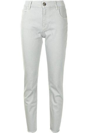 Lorena Antoniazzi Star stud-detail slim-fit jeans
