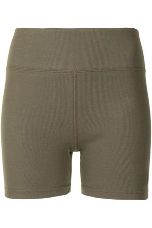 A BATHING APE® Mulher Calções - Cotton cycling shorts