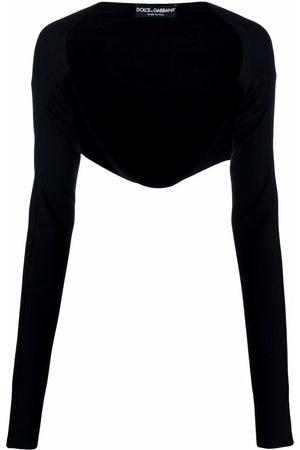 Dolce & Gabbana Mulher Boleros - Bolero longsleeved cardigan