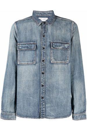 Saint Laurent Button-up denim shirt