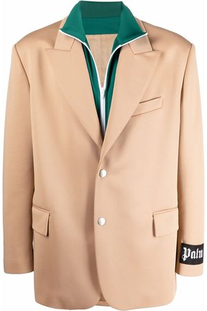 Palm Angels Double-layer track blazer