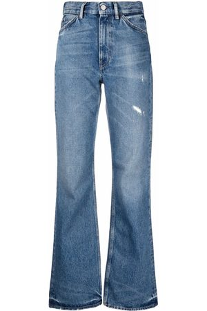 Acne Studios Distressed-effect bootcut jeans