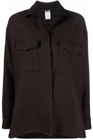 Kristensen Du Nord Buttoned-up cotton shirt jacket