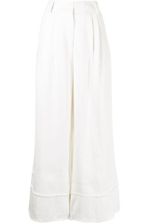 AJE Cropped wide-leg trousers