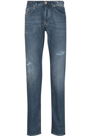 ELEVENTY Slim-fit mid-rise jeans