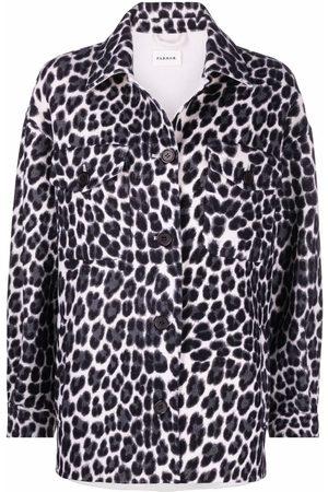 P.A.R.O.S.H. Leopard-print shirt jacket