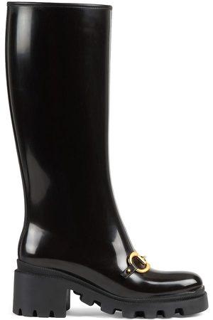 Gucci Horsebit-detail knee-high boots