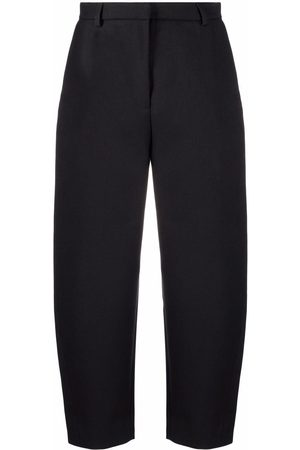 Totême Balloon-leg cropped tailored trousers