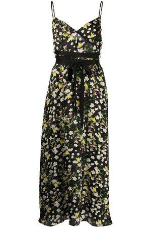 Cynthia Rowley Capri floral-print dress