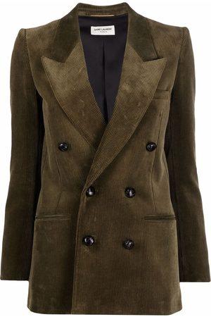 Saint Laurent Corduroy double-breasted blazer