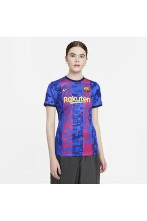 Nike Camisola de futebol Dri-FIT do terceiro equipamento Stadium FC Barcelona 2021/22 para mulher