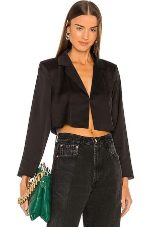 L'Academie The Leona Crop Blouse in - . Size L (also in S, M, XL).