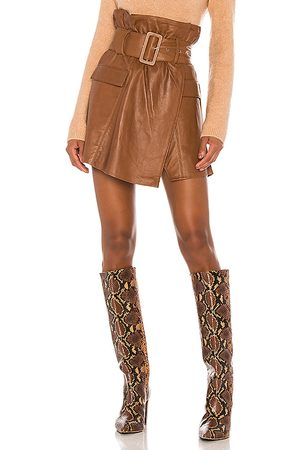 Song of Style Brandy Leather Skirt in - . Size M (also in XXS, XS, S, XL).