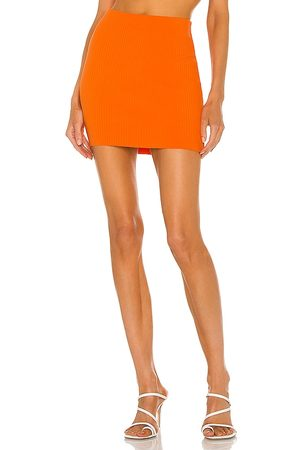 Cotton Citizen X REVOLVE Ribbed Mini Skirt in - . Size L (also in XS, S, M).