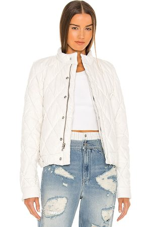 RTA Louisa Faux Leather Jacket in - . Size L (also in XS, S, M).