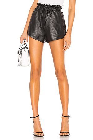 LPA Nina Leather Shorts in - . Size L (also in XXS, XS, S, M, XL).