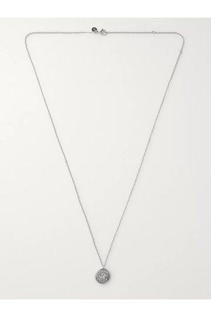 Tom Wood Sterling Pendant Necklace