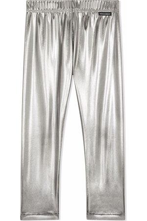 Dolce & Gabbana Kids Elasticated-waistband leggings