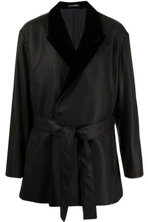 Emporio Armani Homem Gravatas - Tie-fastening fitted jacket