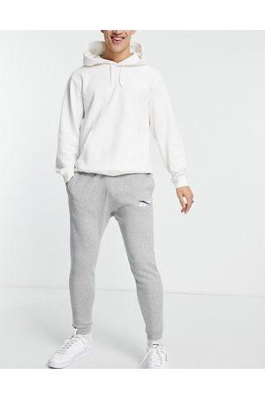 Reebok Core logo joggers in grey