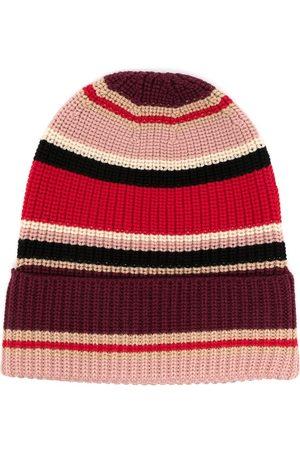 Ports V Striped wool beanie