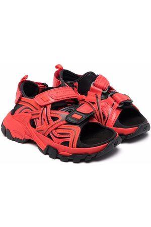 Balenciaga Menino Sandálias - Open toe track-style sandals