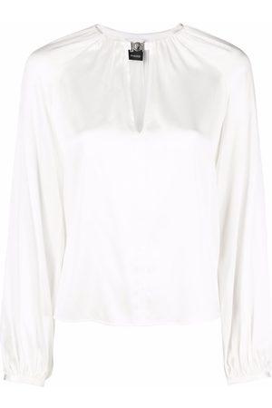 Pinko Famatina keyhole-detail blouse