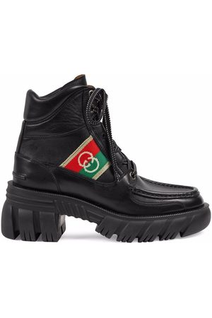Gucci Interlocking G panel ankle boots