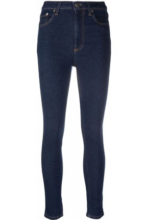 TWINSET Mid-rise skinny jeans