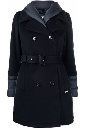 Woolrich Mulher Gabardinas - Kuna quilted-finish trench coat
