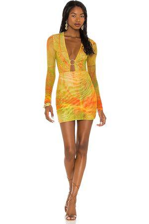 Farai London X REVOLVE Mini Skirt Set in - Yellow. Size L (also in S, XS, M).