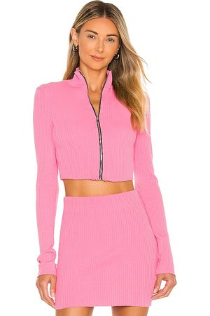 Cotton Citizen X REVOLVE The Ibiza Turtleneck in - Pink. Size L (also in XS, S, M).