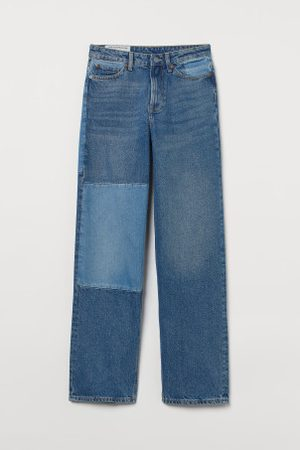 H&M Loose Straight High Jeans