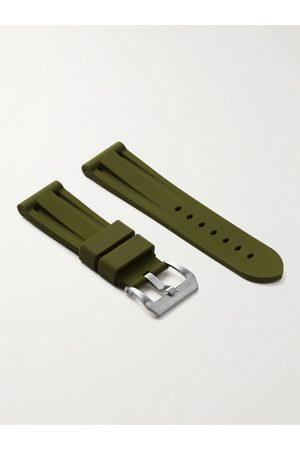 HORUS WATCH STRAPS Homem Relógios - 24mm Rubber Watch Strap