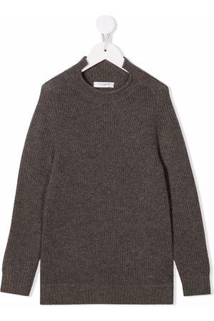 Paolo Pecora Kids Menino Tops de Cavas - Purl-knit merino wool
