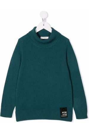 Paolo Pecora Kids Roll-neck merino wool jumper