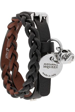 Alexander McQueen Braided double cuff