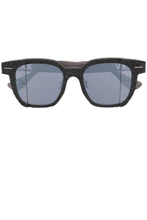 A BATHING APE® Logo-print square-frame sunglasses
