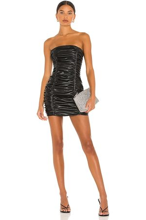 superdown Lily Ruched Mini Dress in - . Size L (also in M, S, XL, XS, XXS).