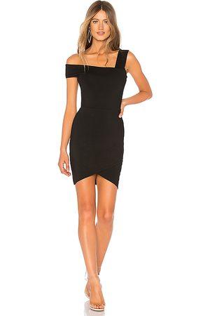 superdown Fallon Asymmetrical Mini Dress in - . Size S (also in XS).