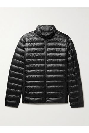 Moncler Homem Parkas - Vosges Slim-Fit Quilted Ripstop and Stretch-Jersey Down Jacket