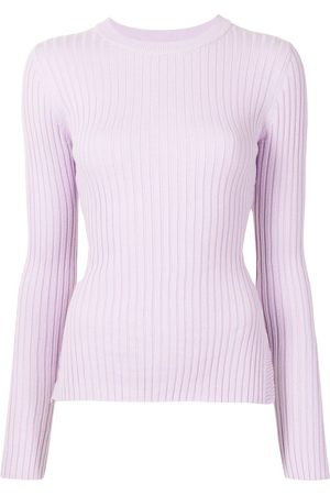Anna Quan Mulher Camisolas - Elesha ribbed-knit cotton jumper