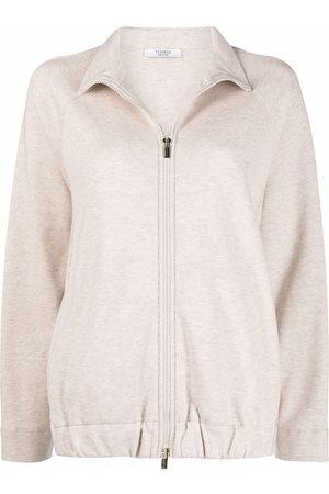 PESERICO SIGN Zip-up longsleeved jumper