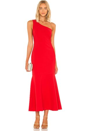 LIKELY Brighton Dress in - Red. Size 0 (also in 10, 2, 4, 6, 8).