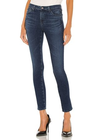 AG Adriano Legging Ankle Jean in - Blue. Size 23 (also in 24, 25, 26, 27, 28, 29, 30, 31, 32).