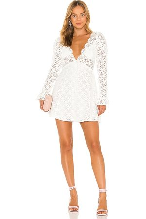 For Love & Lemons Charmaine Mini Dress in - . Size L (also in M, S, XL, XS).