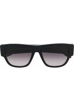 Alexander McQueen Homem Óculos de Sol - Square-frame sunglasses